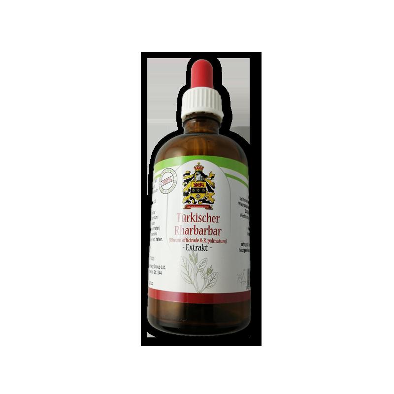 Türkischer Rharbarbar Rheum Officinale Extract