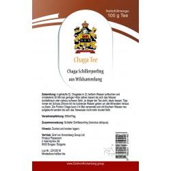 Wilder Chaga Pilz Tee aus Lettland