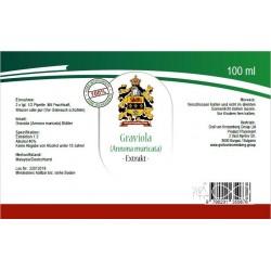 Graviola* Annona muricata Blätter Extract Ultraschall Extraction
