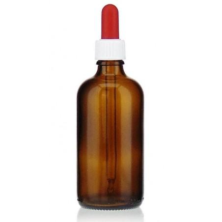 100ml braune Medizinflasche mit Pipette