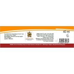 Ozonisiertes hochwertiges Distel Öl 1760g Ozon/L  40ml