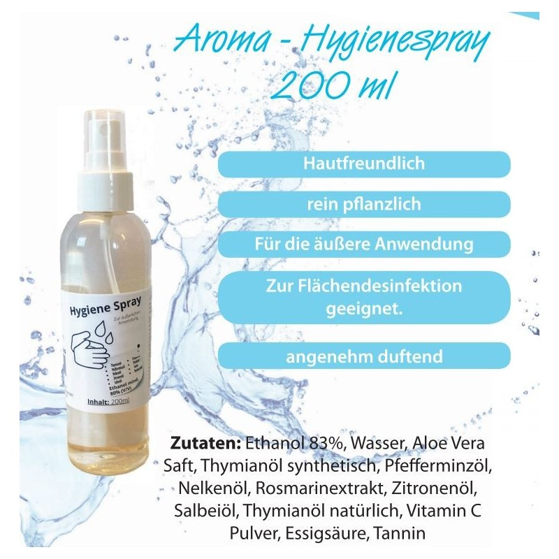 Corona Hygiene Aroma Spray 200ml
